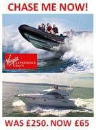 Chase Me! Luxury Cruiser and RIB Blast Sea Chase WAS £150 NOW £65. SOUTHAMPTON