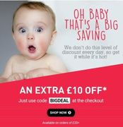 Code:bigdeal,£10 off £20 Spend on All Deals,inc:Sale Drayton Manor Kids for £10