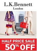 JUST STARTED! HALF PRICE at LK Bennett SALE - save 50% Now