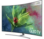 "SAMSUNG QLED QE55Q8C 55"" Smart 4K Ultra HD HDR Curved TV Only £929.97"