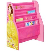 Hello Home Disney Princess Sling Bookcase, Fabric, Pink, 23 X 51 X 60 Cm