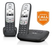 Gigaset A455A Cordless Telephone with Answer Machine - Twin