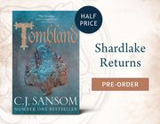 Waterstones Half Price off Tombland by C J Sansom Sale