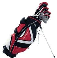 Ben Sayers Golf M15 Men's Package Set - Graphite Red