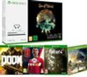 Xbox One S(1TB) Sea of Thieves, FIFA 18, Fallout 4, Assassin's Creed & Doom
