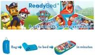 Paw Patrol Inflatable Kids Air Bed & Sleeping Bag in One