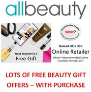 ALL BEAUTY - More than 50 FREE GIFT with Purchase Offers!