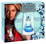 Beyonce Heat Shimmer Eau De Perfume, Shower Gel and Body Lotion Gift Set