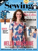Save 72% on 6 Issues of Simply Sewing Magazine * £9.99 Only