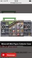 : Minecraft Mini-Figure Collector Case