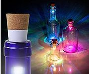 Bottle Stopper and Rechargeable Lamp for Party Bar & Room Lights