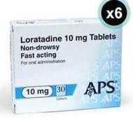Loratadine 6 Months Supply Only £4.79