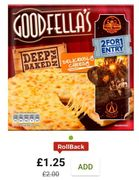 Goodfella's Cheese Deep Pan Baked Pizza