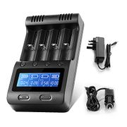 40% off Universal Battery Charger with Car Adapter (Prime Delivery)