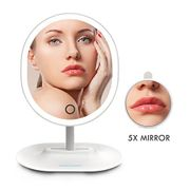 LED Makeup Mirror with Adjustable Brightness