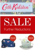 FURTHER REDUCTIONS NOW - Cath Kidston SALE - up to 60% Off