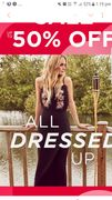 50% Discount on All Dresses- Same Dress is Just for 15