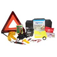 Top Tech 12pc Emergency Roadside Kit (Black) at Euro Car Parts
