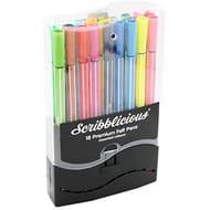 Scribblicious Premium Felt Pens - Set of 18 at the Works