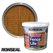 Ronseal 5 Year Fence Life: Harvest Gold 5L