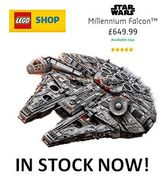 THE LARGEST LEGO SET EVER! LEGO Star Wars Millennium Falcon IN STOCK NOW