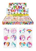 24 Unicorn Tattoos Party Bag Fillers Free Delivery