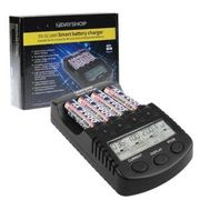 AA and AAA Intelligent NiMH Pro DS-SC1000 Battery Charger Multi Mode LCD