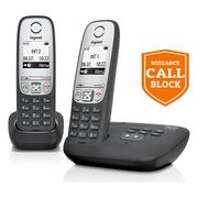 Gigaset Cordless Telephone with Answer Machine - Twin