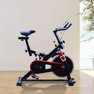 HOMCOM Exercise Bike Sports Cardio Fitness Adjustable Resistance Aerobic Cycling