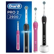 Oral-B Pro 2900 Electric Rechargeable Toothbrush Powered by Braun