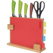 HOME 10 Piece Chopping Board and Knife Set at Argos