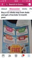 Buy a Vileda Mop at Asda Get Huge Discounts and Kids Free Passes