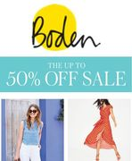 Boden Sale is on Now - up to 50% Off. HALF PRICE SWIMWEAR DEALS!