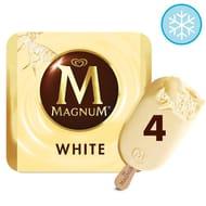 Magnum White Ice Cream