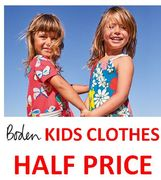 Kids Clothes HALF PRICE NOW at BODEN