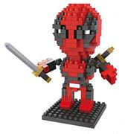 Mini Deadpool 230Pcs Building Block £1.53 Delivered
