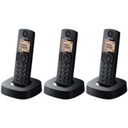 Panasonic Cordless Telephone with Answer Machine - Triple, Half Price