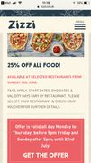 25% off at Zizi Restaurants