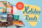 Waterstones up to 25% off Holiday Reads.
