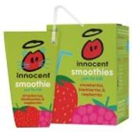 Innocent Kids Smoothie Strawberry, Blackberry & Raspberry 4x180ml