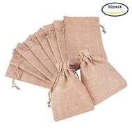 30 X Burlap Gift Bags