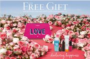 Lancome Free Love Pouch and Minis with 2 Lancome Products