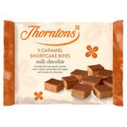 Thorntons Mini Caramel Shortcake Bites/brownie Bites