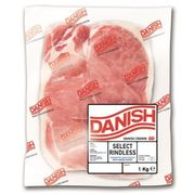 Danish Unsmoked Back Bacon 1Kg