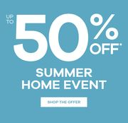 JD Williams up to 50% off the Summer Home Event Sale