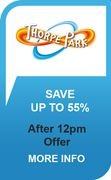 Get 55% off Thorpe Park Tickets