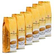 Italian Coffee Beans Aroma Piu, Manuel Caffè, 6 X 1kg