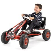 Xootz Go-Kart Large Pedal Handbrake Gear Rubber Tyres £85.49 with Code