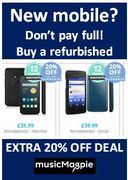 Need a New Mobile Phone? EXTRA 20% OFF REFURBISHED MOBILES SALE HERE
