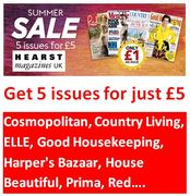 5 Issues for £5! Heart Magazines Summer Sale - ENDS 18TH JULY